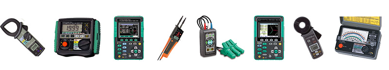 Kyoritsu Electrical Instruments Works Ltd. Products