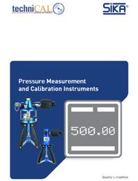 Sika Pressure Calibrators