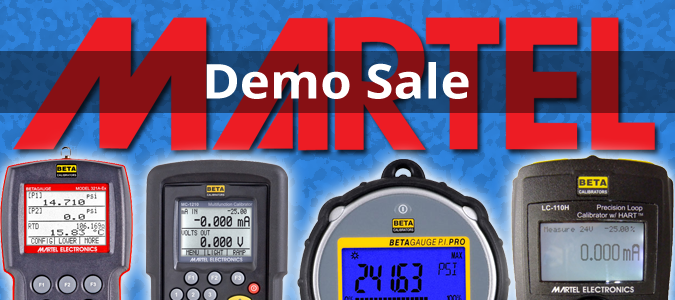 MARTEL Demo Sale!